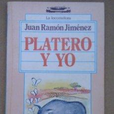 Libros antiguos: EL CLASICO PLATERO Y YO DE JUAN RAMON JIMENEZ LOTE Nº 7. Lote 103378487
