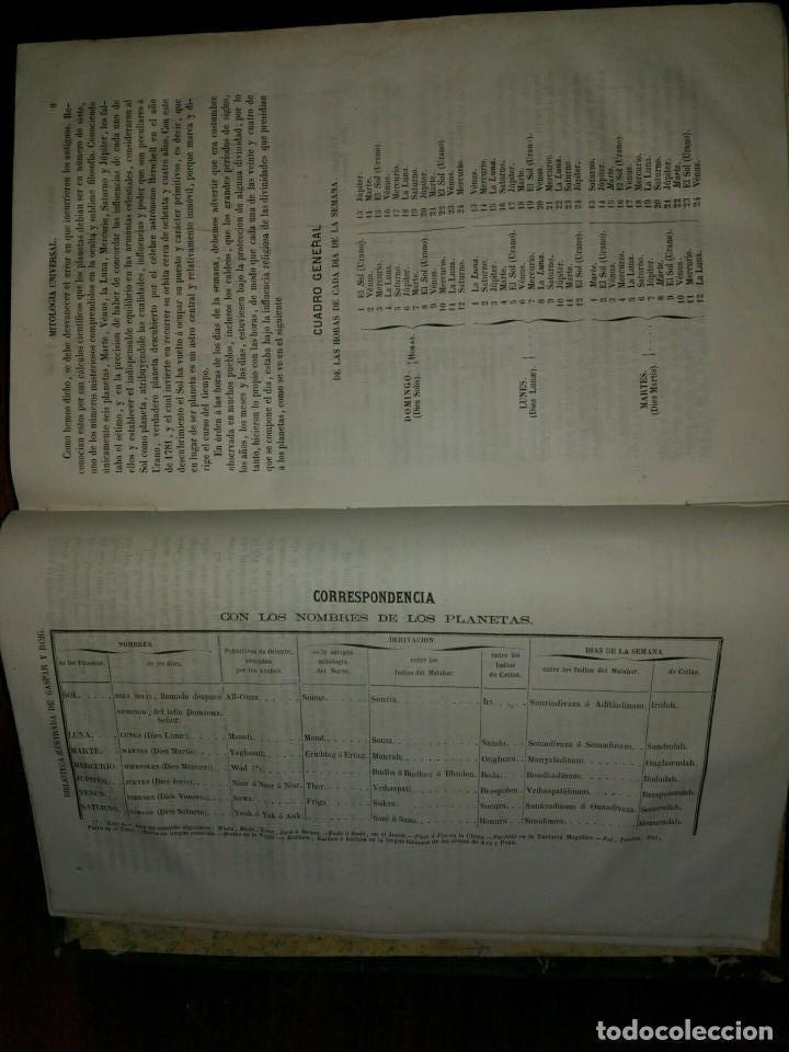 Libros antiguos: Mitología Universal. Ideas Religiosas y Teológicas de todos los Siglos. Juan Bautista Carrasco. 1864 - Foto 4 - 103405623