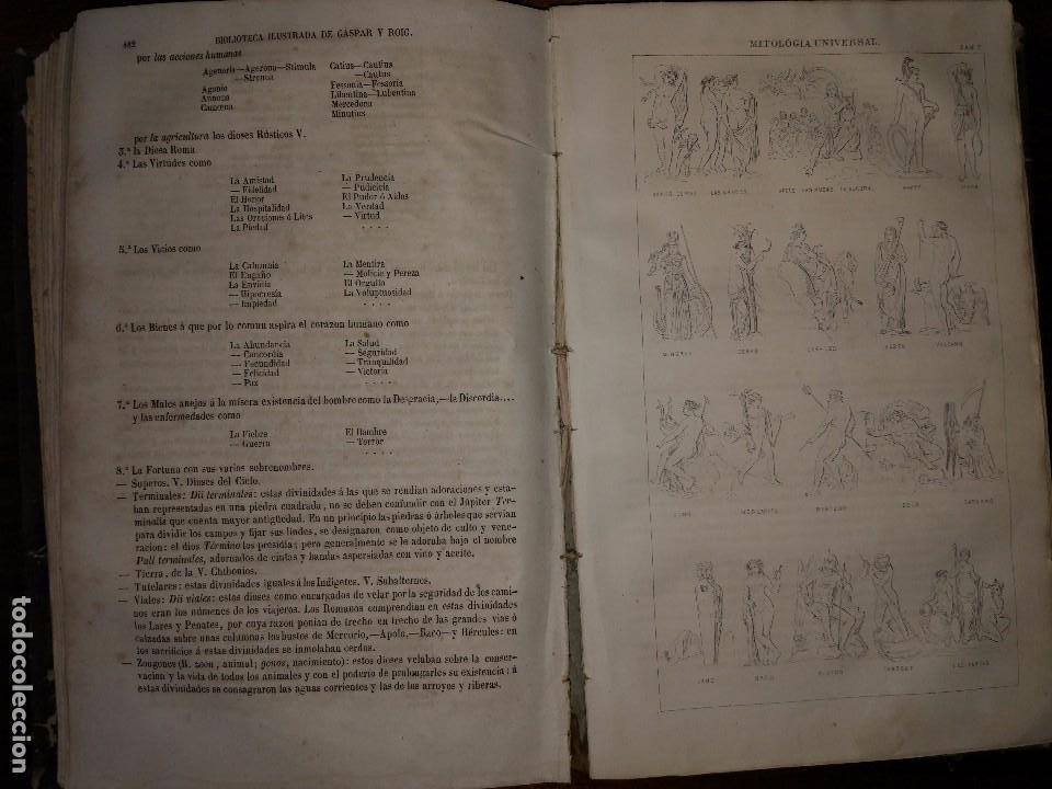 Libros antiguos: Mitología Universal. Ideas Religiosas y Teológicas de todos los Siglos. Juan Bautista Carrasco. 1864 - Foto 5 - 103405623