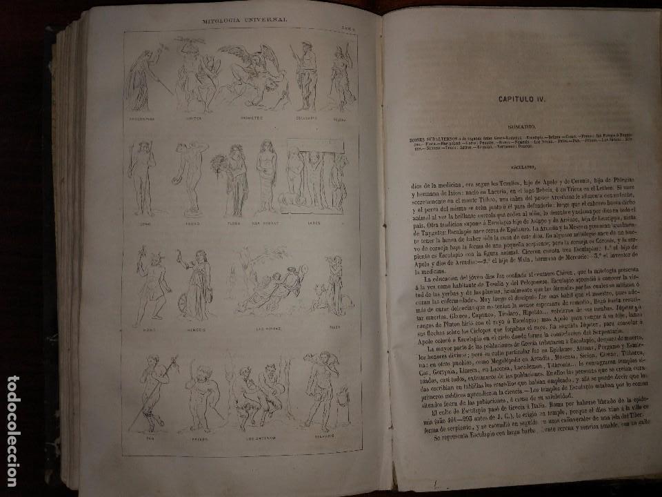 Libros antiguos: Mitología Universal. Ideas Religiosas y Teológicas de todos los Siglos. Juan Bautista Carrasco. 1864 - Foto 6 - 103405623