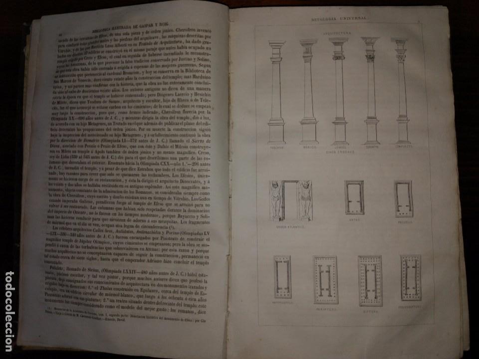 Libros antiguos: Mitología Universal. Ideas Religiosas y Teológicas de todos los Siglos. Juan Bautista Carrasco. 1864 - Foto 3 - 103405623