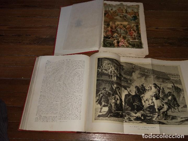 Libros antiguos: Los Dioses de Grecia y Roma. Mitología Greco-Romana. Víctor Gebhardt. 1880 (2 Vol) - Foto 5 - 103434391