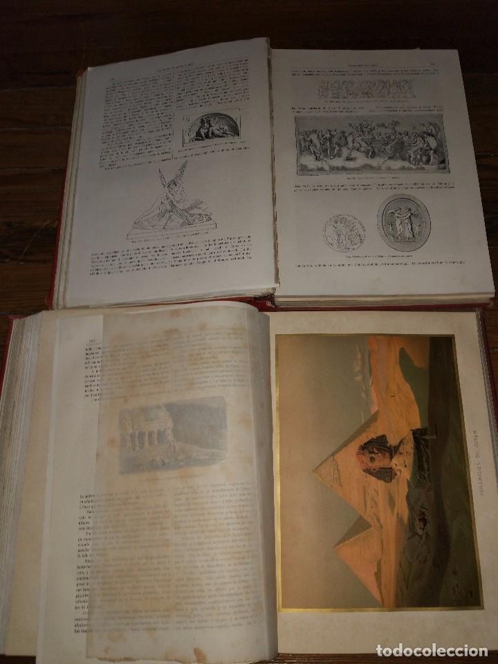 Libros antiguos: Los Dioses de Grecia y Roma. Mitología Greco-Romana. Víctor Gebhardt. 1880 (2 Vol) - Foto 6 - 103434391