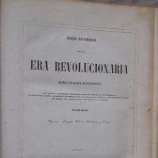 Libros antiguos: ANALES PINTORESCOS DE LA ERA REVOLUCIONARIA (MADRID 1845, BIGNON, MIGNET, THIERS, DULAURE Y LESSUR). Lote 103503383