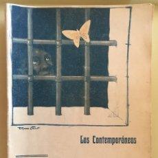 Libros antiguos: LOS CONTEMPORANEOS 1.909 - 36 EJEMPLARES 27 PRIMEROS NUMEROS MAS 9 POSTERIORES- NOVELA CORTA. Lote 148214309