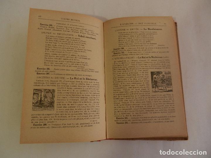 Libros antiguos: GRAMMAIRE COURS MOYEN PAR CLAUDE AUGÉ LIBRAIRIE LAROUSSE PARIS. - Foto 3 - 103528287