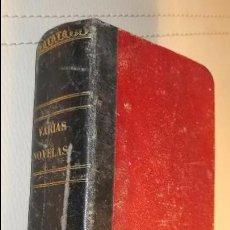 Libros antiguos: VARIAS NOVELAS TOMO PRIMERO 1863 LA MINA DE ORO ELIAS BERTHET TOMO SEGUNDO LA MINA DE ORO,. Lote 103559139