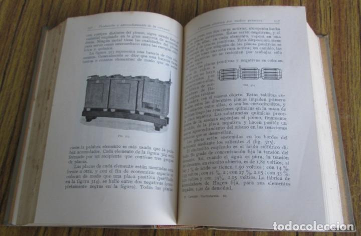 Libros antiguos: ELECTROTECNIA - Por K. Laudien - Edit. Labor 1929 -- Con 809 figuras - Foto 8 - 103631899