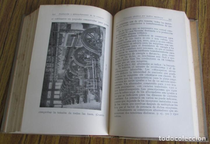 Libros antiguos: ELECTROTECNIA - Por K. Laudien - Edit. Labor 1929 -- Con 809 figuras - Foto 10 - 103631899
