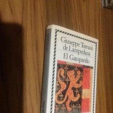 Libros antiguos: EL GATOPARDO. GIUSEPPE TOMASI DE LAMPEDUSA. CIRCULO DE LECTORES. TAPA DURA. BUEN ESTADO. RARO. Lote 103638623