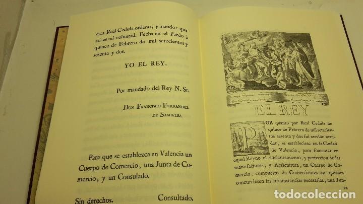 Libros antiguos: REALES CEDULAS DE ERECCION, Y ORDENANZAS DE LOS TRES CUERPOS DE COMERCIO. REYNO VALENCIA.(FACSIMIL) - Foto 5 - 103707743