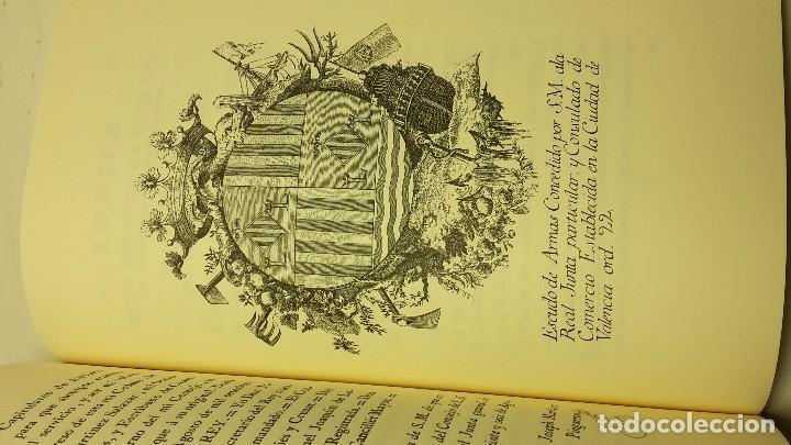 Libros antiguos: REALES CEDULAS DE ERECCION, Y ORDENANZAS DE LOS TRES CUERPOS DE COMERCIO. REYNO VALENCIA.(FACSIMIL) - Foto 6 - 103707743
