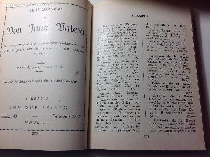 Libros antiguos: Catalogo libreria Enrique Prieto 1933-1934. - Foto 4 - 103725491