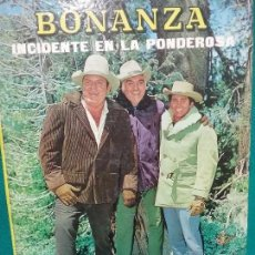 Libros antiguos: BONANZA INCIDENTE EN LA PONDEROSA - EDITORIAL FHER AÑO 1966. Lote 103703683