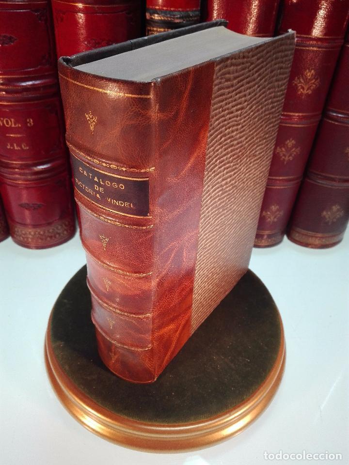 CATÁLOGO GENERAL DE LA LIBRERÍA DE VICTORIA VINDEL - 149 REPRODUCCIONES EN FACSIMIL - MADRID - (Libros Antiguos, Raros y Curiosos - Ciencias, Manuales y Oficios - Otros)