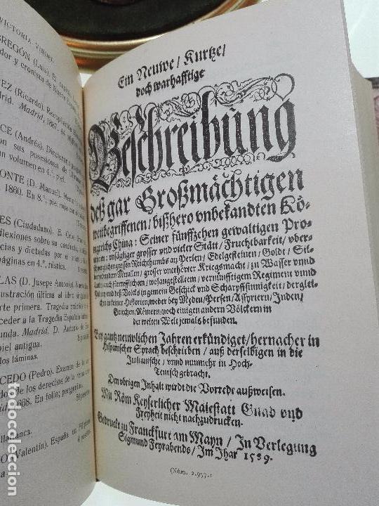 Libros antiguos: CATÁLOGO GENERAL DE LA LIBRERÍA DE VICTORIA VINDEL - 149 REPRODUCCIONES EN FACSIMIL - MADRID - - Foto 6 - 103778407