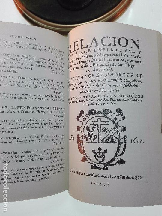 Libros antiguos: CATÁLOGO GENERAL DE LA LIBRERÍA DE VICTORIA VINDEL - 149 REPRODUCCIONES EN FACSIMIL - MADRID - - Foto 10 - 103778407