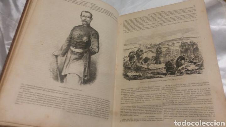 Libros antiguos: LIBRO DIARIO DE UN TESTIGO DE LA GUERRA DE AFRICA SIGLO XIX 1859 ILUSTRADO UNIFORMES BATALLAS ETC - Foto 2 - 103781898
