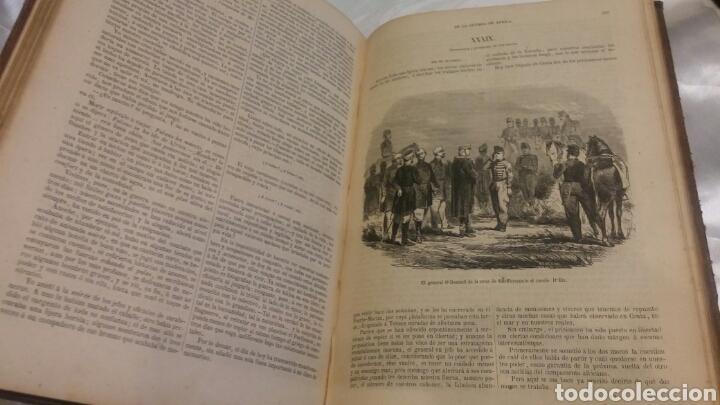 Libros antiguos: LIBRO DIARIO DE UN TESTIGO DE LA GUERRA DE AFRICA SIGLO XIX 1859 ILUSTRADO UNIFORMES BATALLAS ETC - Foto 3 - 103781898