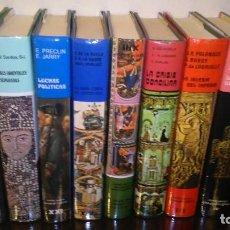 Libros antiguos: LOTE DE LIBROS DE HISTORIA DE RELIGIÓN VARIADOS 8 ROBUSTOS EJEMPLARES. Lote 103801223