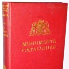 Libros antiguos: LOS VIDRIOS CATALANES. Lote 103810087
