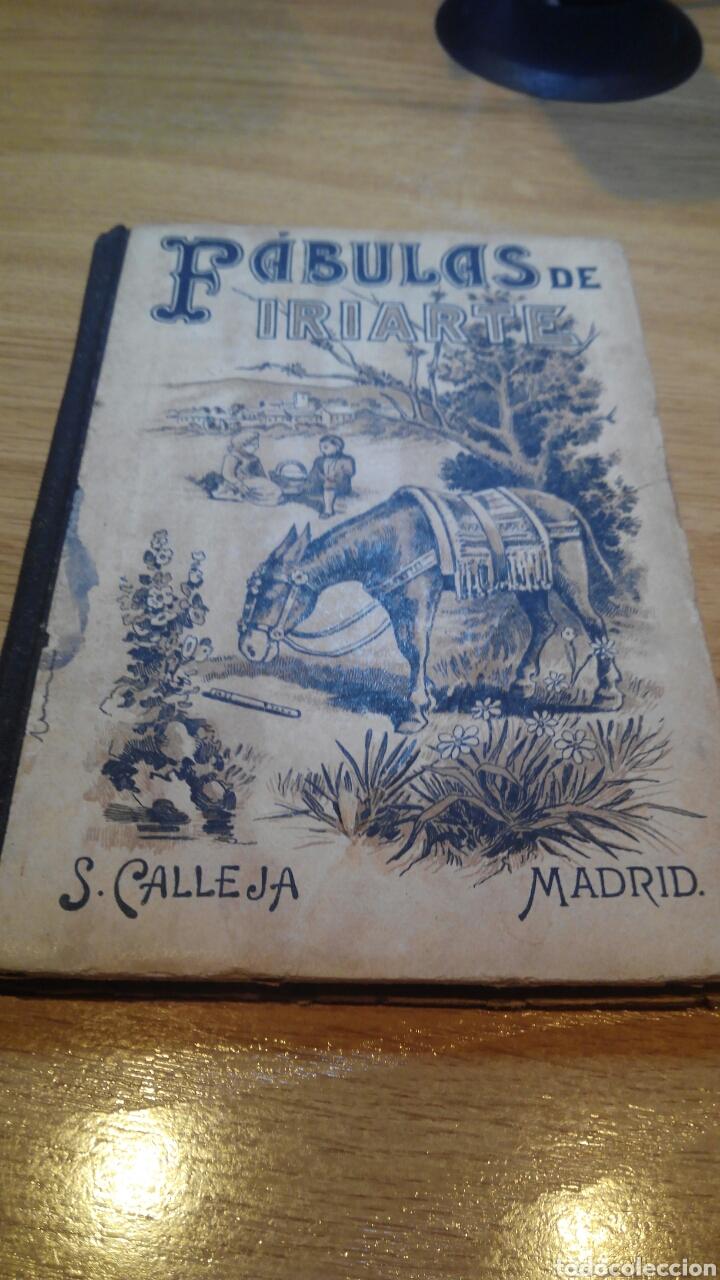 FÁBULAS DE IRIARTE 1900 (Libros Antiguos, Raros y Curiosos - Literatura Infantil y Juvenil - Otros)