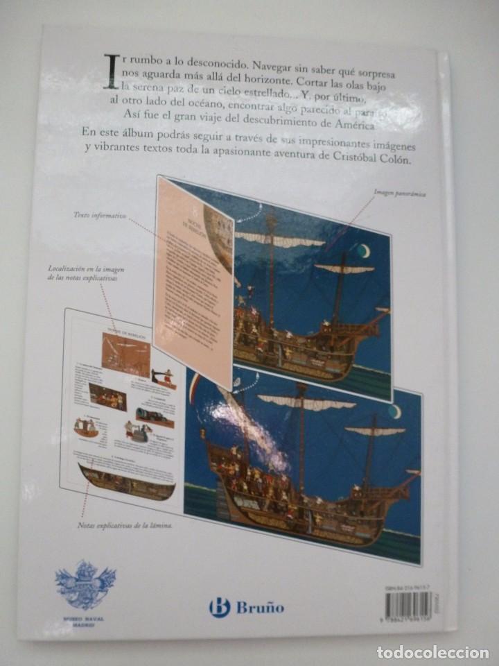 Libros antiguos: ÁLBUM VISUAL DE COLÓN. ELVIRA MENÉNDEZ Y JOSÉ MARÍA ÁLVAREZ. EDICIONES BRUÑO - Foto 2 - 103897347