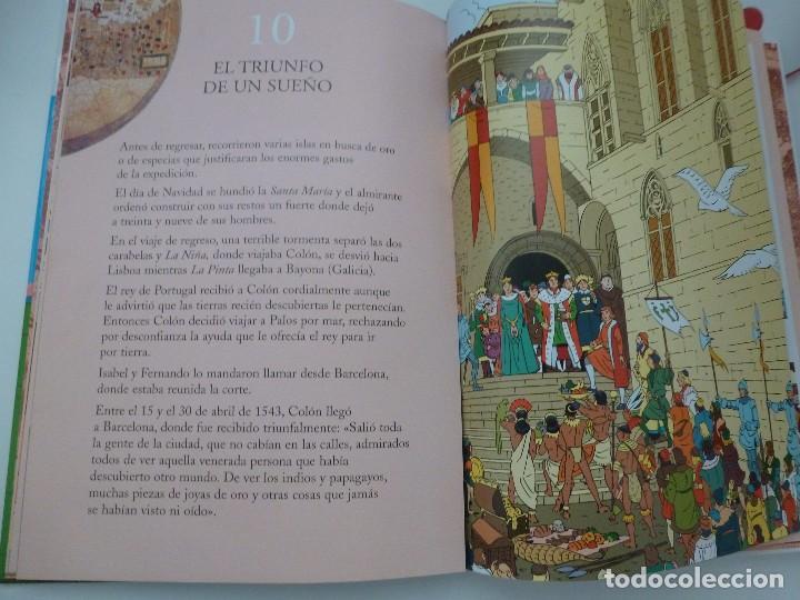 Libros antiguos: ÁLBUM VISUAL DE COLÓN. ELVIRA MENÉNDEZ Y JOSÉ MARÍA ÁLVAREZ. EDICIONES BRUÑO - Foto 3 - 103897347