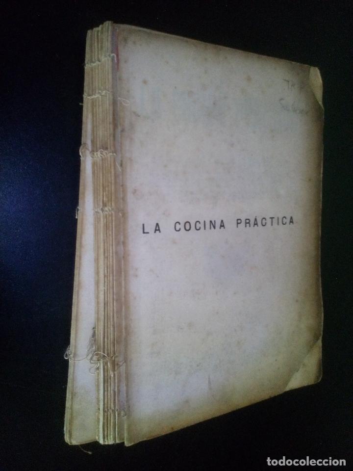 LA COCINA PRACTICA / JUAN MARQUES (Libros Antiguos, Raros y Curiosos - Cocina y Gastronomía)