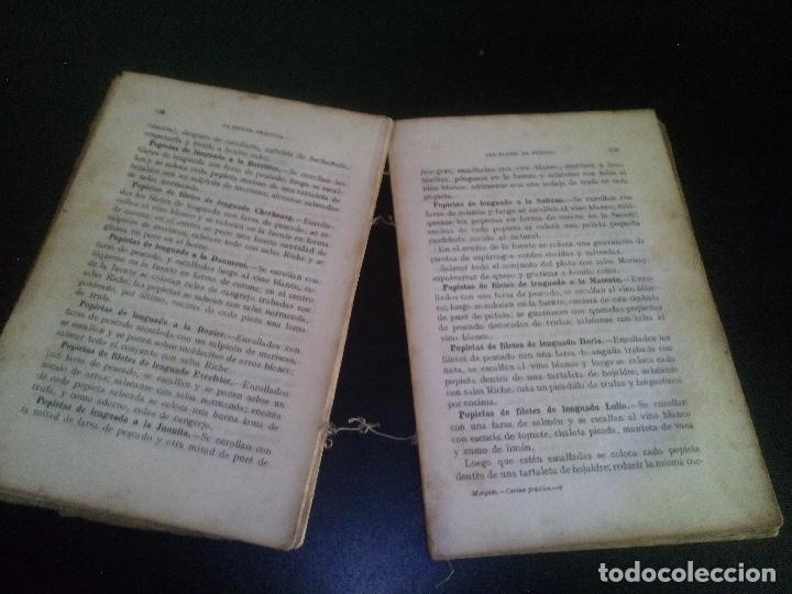 Libros antiguos: la cocina practica / juan marques - Foto 3 - 103933119