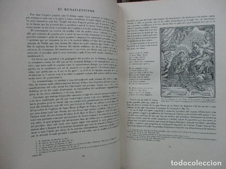 Libros antiguos: EL PESSEBRE. JOAN AMADES. C. 1935. - Foto 6 - 103953667