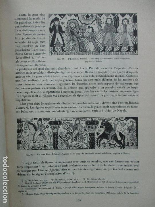 Libros antiguos: EL PESSEBRE. JOAN AMADES. C. 1935. - Foto 8 - 103953667