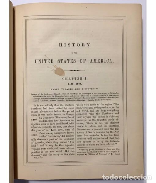 Libros antiguos: HISTORY OF THE UNITED STATES FROM THE EARLIEST PERIOD TO THE ADMINISTRATION OF JAMES BUCHANAN. VOLUM - Foto 2 - 104029139