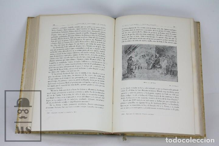 Libros antiguos: Conjunto de 3 Tomos / Libros Folklore y Costumbres de España - Ed. Alberto Martín. Barcelona - 1934 - Foto 6 - 104063047