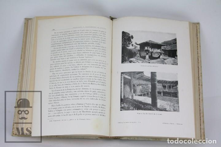 Libros antiguos: Conjunto de 3 Tomos / Libros Folklore y Costumbres de España - Ed. Alberto Martín. Barcelona - 1934 - Foto 7 - 104063047