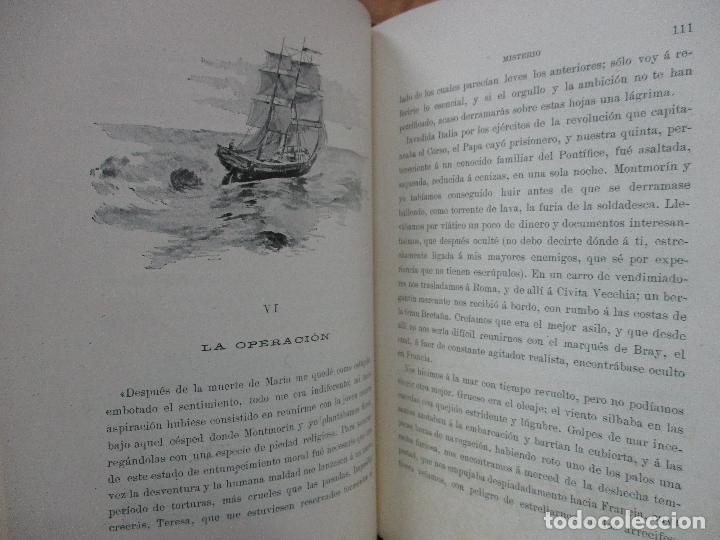 Libros antiguos: MISTERIO. EMILIA PARDO BAZAN. 1903 - Foto 5 - 104063631