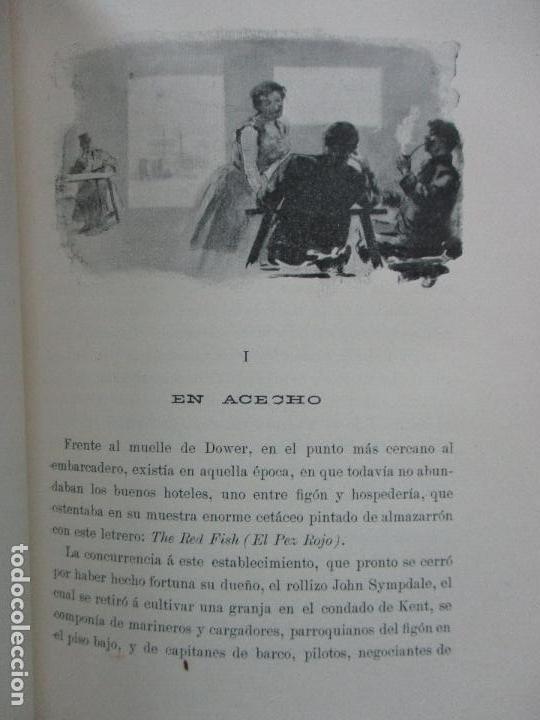 Libros antiguos: MISTERIO. EMILIA PARDO BAZAN. 1903 - Foto 6 - 104063631