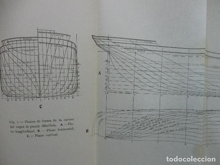 Libros antiguos: ARQUITECTURA NAVAL. Primera parte. TEORÍA DEL NAVÍO. EMIGDIO IGLESIAS. 2 VOLS. 1921. - Foto 4 - 104071567