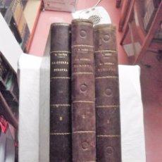Libros antiguos: HISTORIA DE GUERRA EUROPEA DE 1914 POR VICENTE BLASCO IBAÑEZ TOMOS I - II - III. Lote 104079475