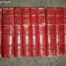 Libros antiguos: HISTORIA DE LA COMPAÑÍA DE JESÚS EN LA PROVINCIA DEL PARAGUAY. VIII TOMOS EN 9 VOL. (1912-1949). Lote 104082191
