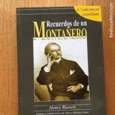 Libros antiguos: RECUERDOS DE UN MONTAÑERO, HENRY RUSSELL, BARRABES. Lote 104102403