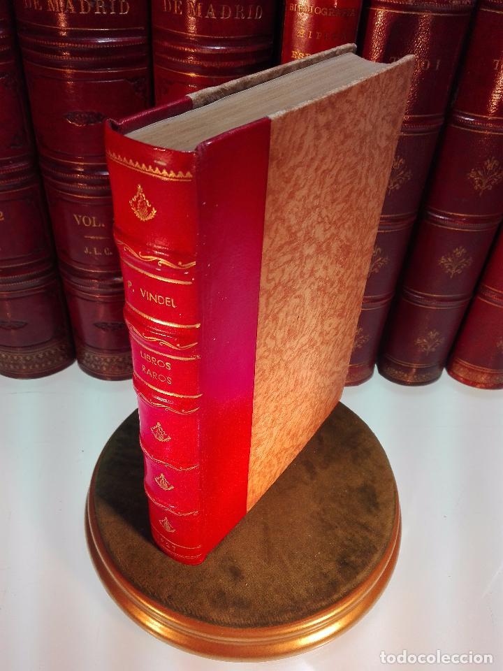 CATÁLOGO ILUSTRADO DE LA LIBRERÍA DE PEDRO VINDEL - LIBROS RAROS, CURIOSOS Y ANTIGUOS - 1927 - (Libros Antiguos, Raros y Curiosos - Ciencias, Manuales y Oficios - Otros)