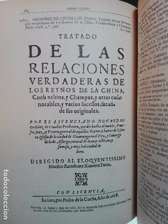 Libros antiguos: CATÁLOGO ILUSTRADO DE LA LIBRERÍA DE PEDRO VINDEL - LIBROS RAROS, CURIOSOS Y ANTIGUOS - 1927 - - Foto 11 - 104179279