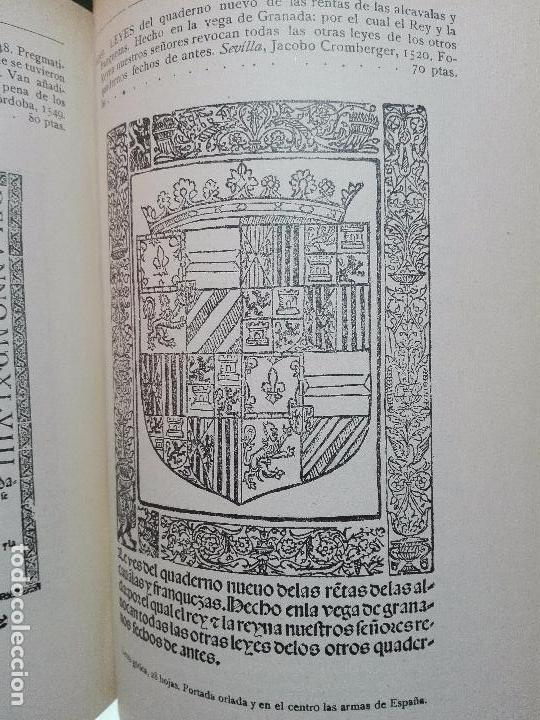 Libros antiguos: CATÁLOGO ILUSTRADO DE LA LIBRERÍA DE PEDRO VINDEL - LIBROS RAROS, CURIOSOS Y ANTIGUOS - 1927 - - Foto 12 - 104179279