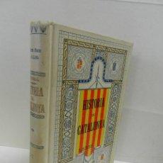 Libros antiguos: HISTORIA CRÍTICA CIVIL I ESGLESIASTICA DE CATALUNYA, ANTONI DE BOFARULL TOMS 01 02 .- 1VOL 1906. Lote 104217523
