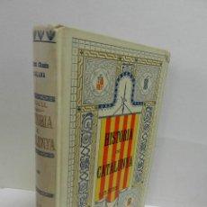 Libros antiguos: HISTORIA CRÍTICA CIVIL I ESGLESIASTICA DE CATALUNYA, ANTONI DE BOFARULL TOMS 03 04 .- 1VOL 1906. Lote 104217691