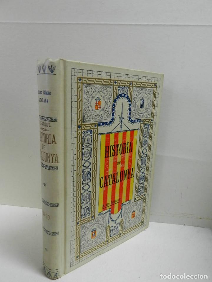 HISTORIA CRÍTICA CIVIL I ESGLESIASTICA DE CATALUNYA, ANTONI DE BOFARULL TOMS 19 20 .- 1VOL 1908 (Libros Antiguos, Raros y Curiosos - Historia - Otros)