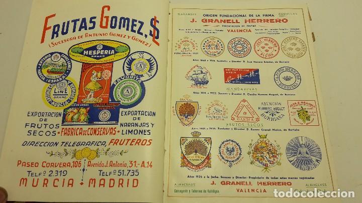 Libros antiguos: CATALOGO FRUTERO DE ESPAÑA1949. - Foto 6 - 104282311