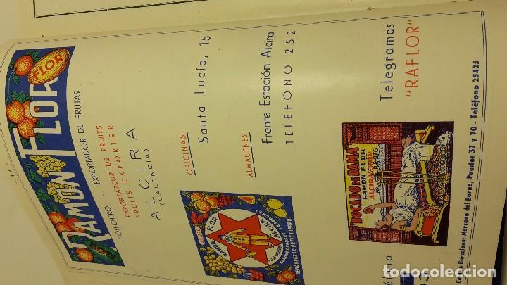 Libros antiguos: CATALOGO FRUTERO DE ESPAÑA1949. - Foto 7 - 104282311