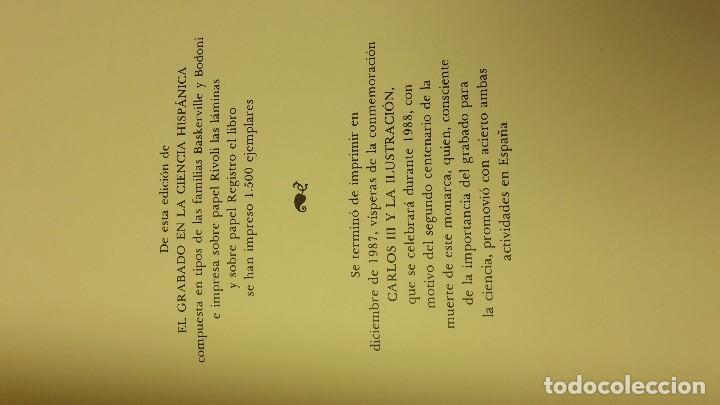 Libros antiguos: EL GRABADO EN LA CIENCIA HISPÁNICA, J.M. LÓPEZ PIÑERO, SIN ABRIR. - Foto 3 - 104301087